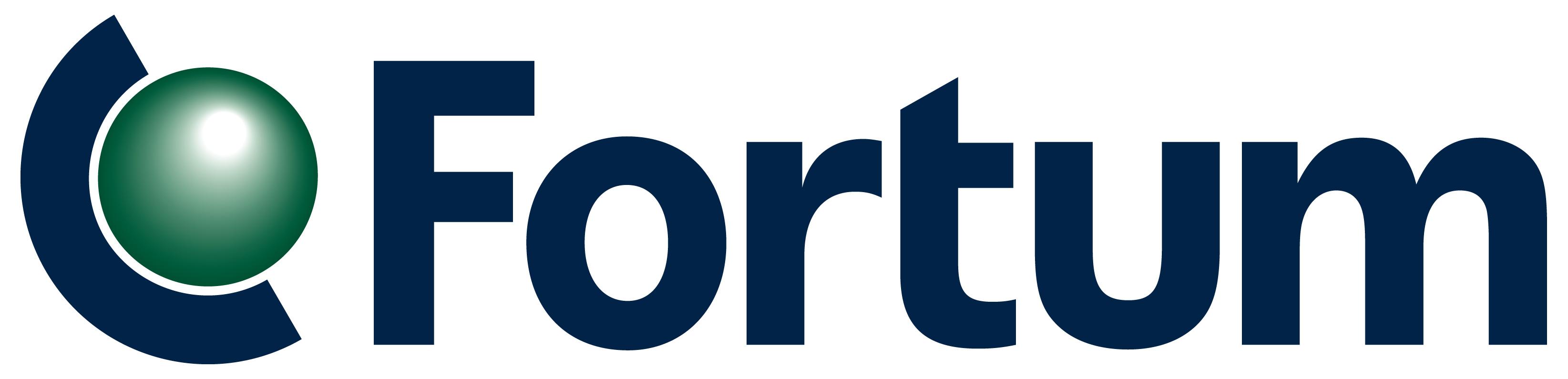Fortum Logo Wallpaper