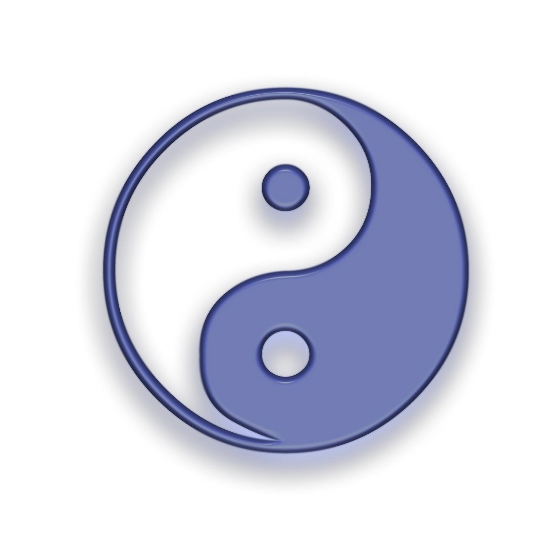 Yin and Yang Symbol Wallpaper