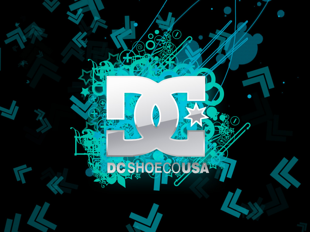 DC Shoe CO USA logo Wallpaper