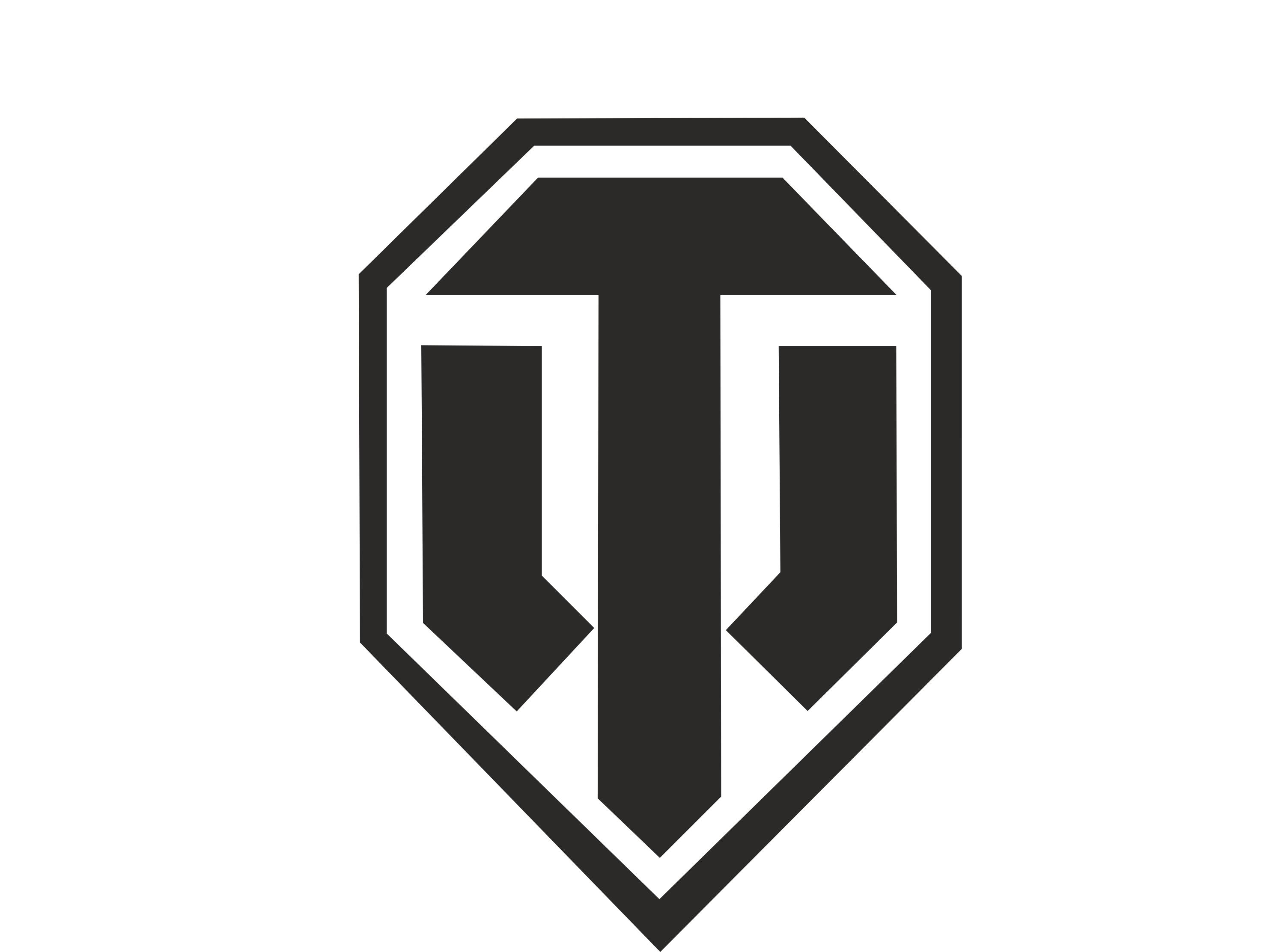 World of Tanks Black Logo Wallpaper