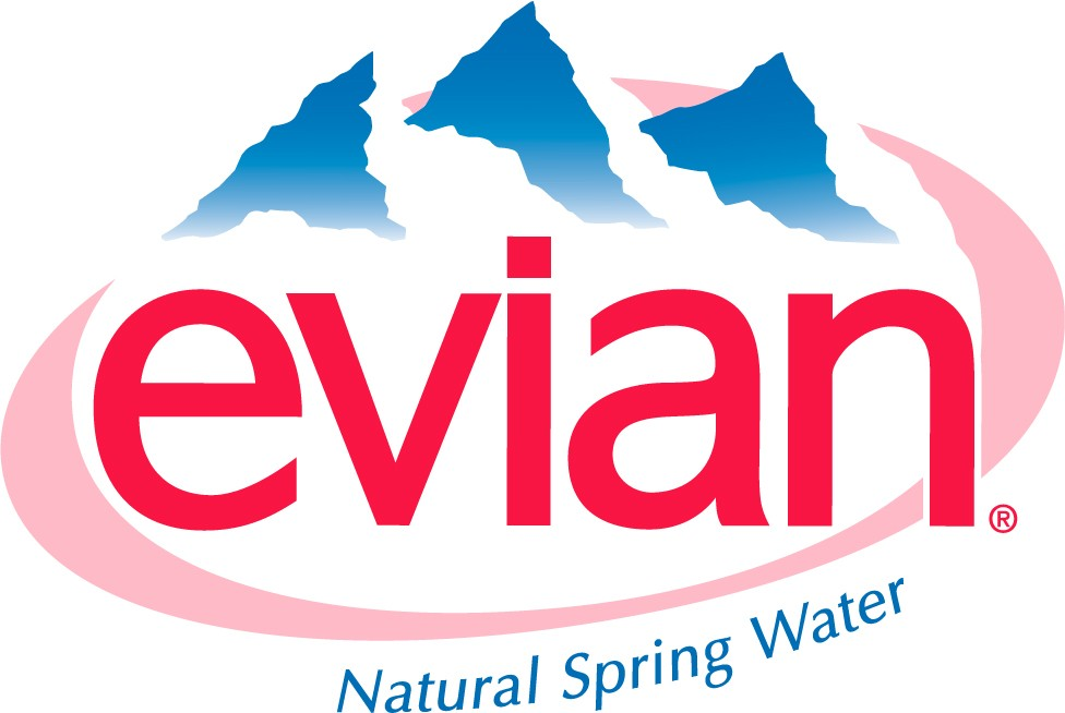 Evian Logo Wallpaper