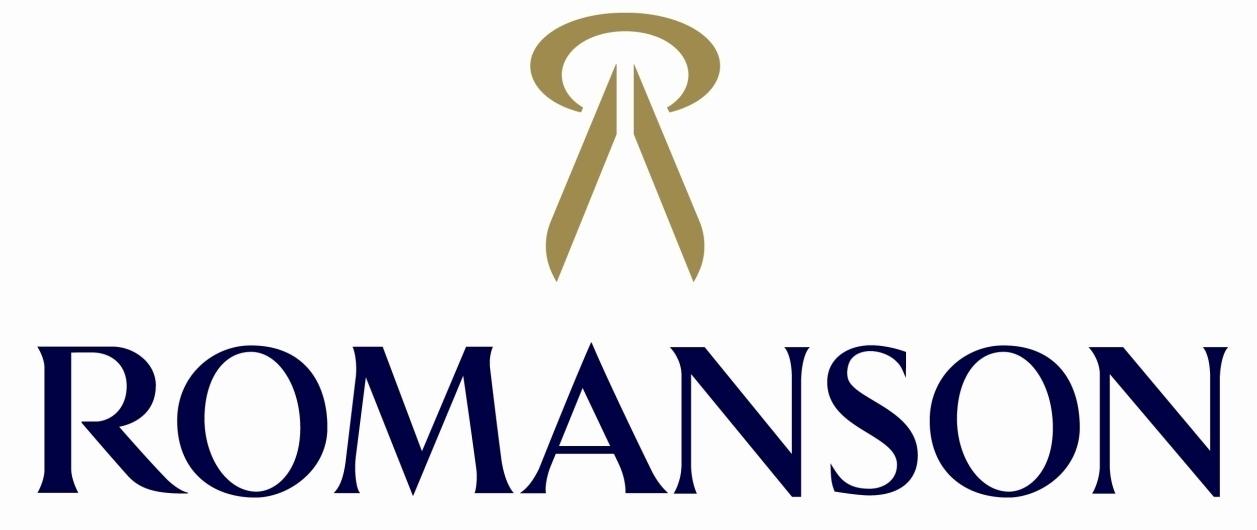 Romanson Logo Wallpaper