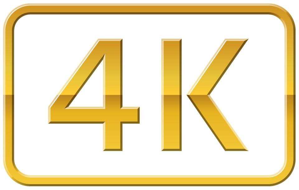 4K Gold Logo Wallpaper