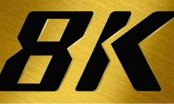 8K Logo