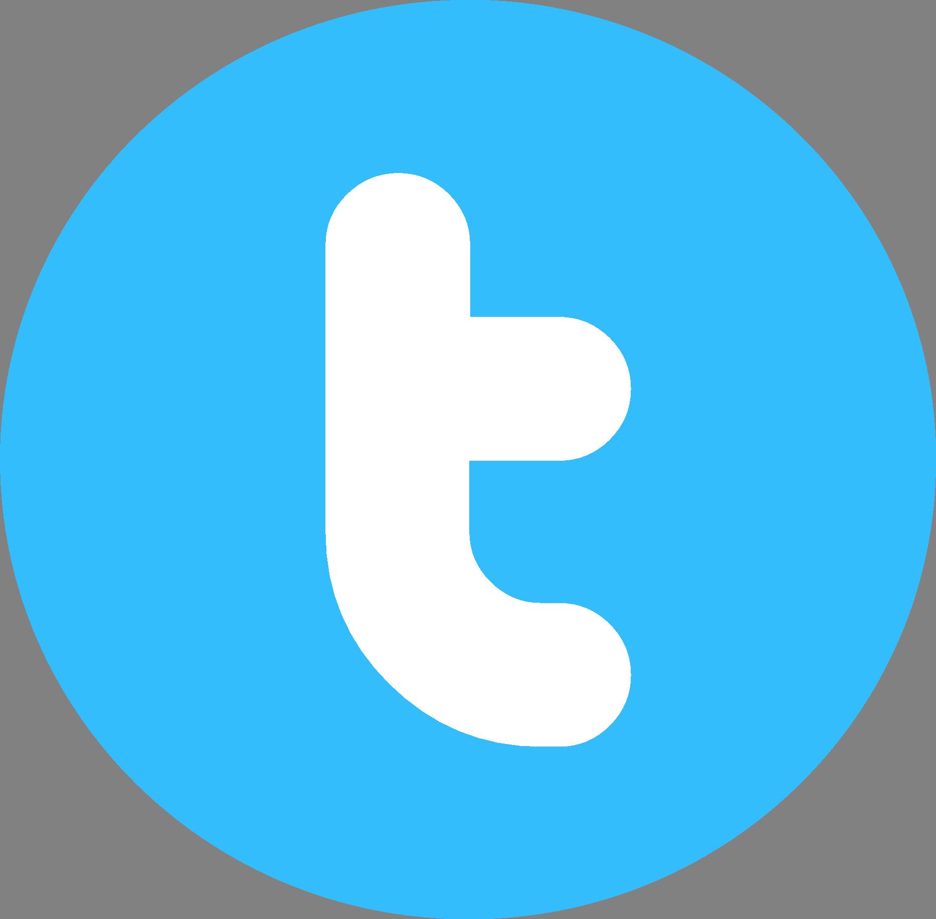 Twitter Round Logo Wallpaper