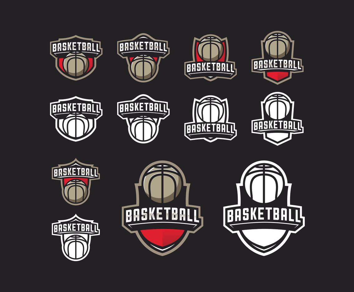 Basketballs Emblem Wallpaper