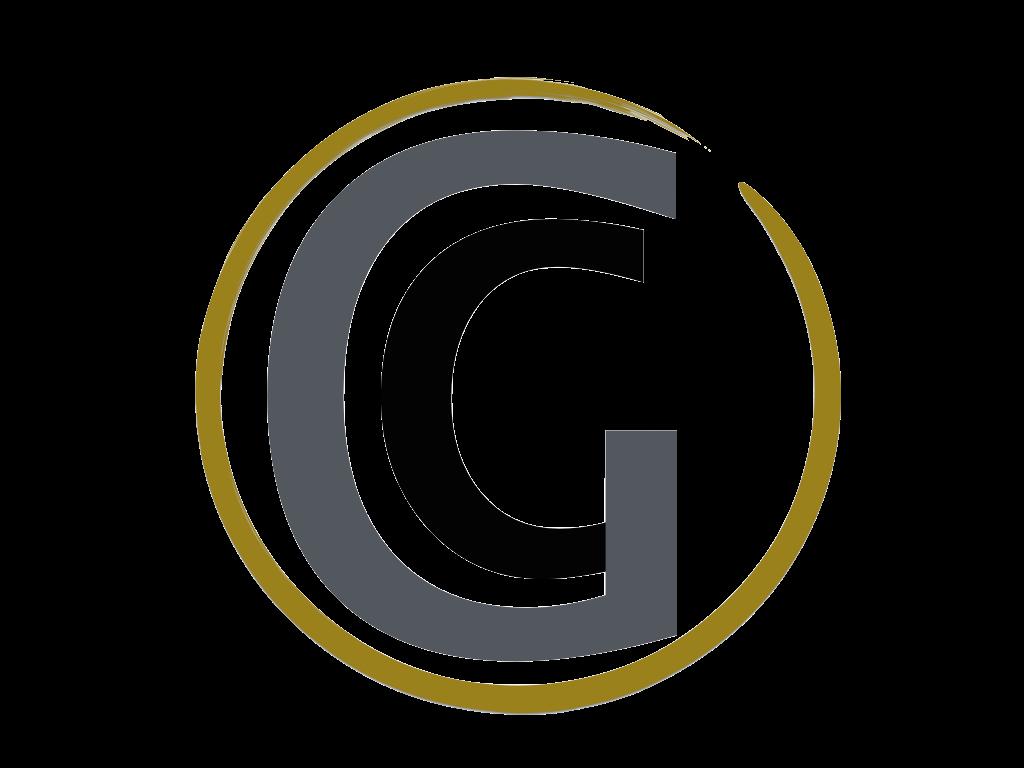Gold Concept Logo Wallpaper