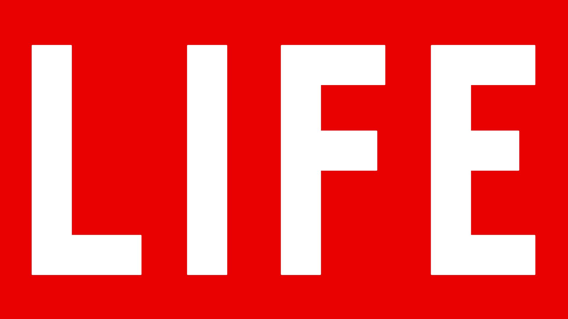 Life Red Logo Wallpaper