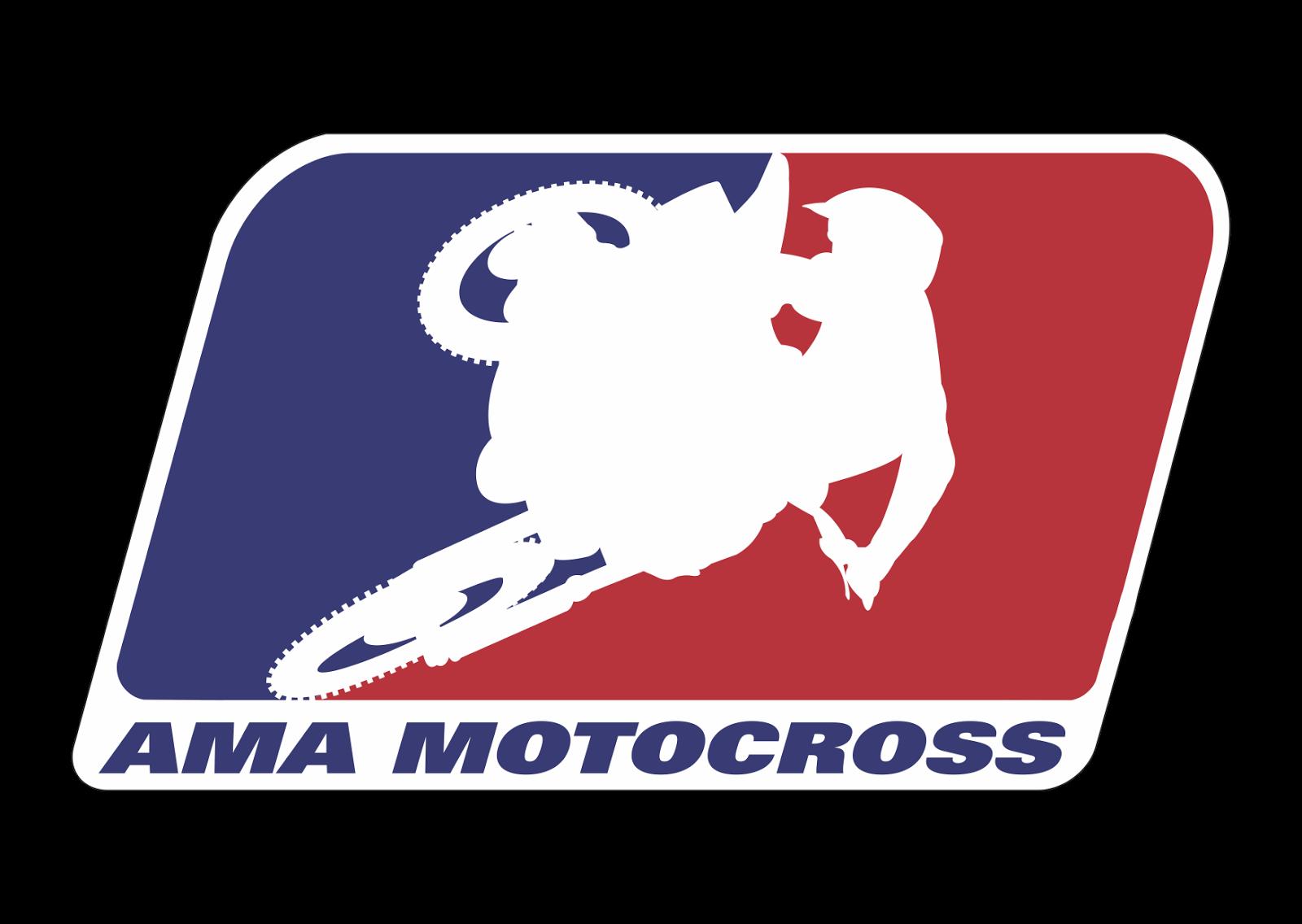 AMA Motocross Logo Wallpaper