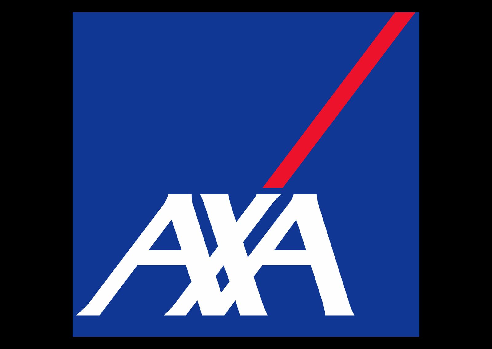 AXA Logo Wallpaper