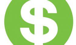 Dollar Green Sign