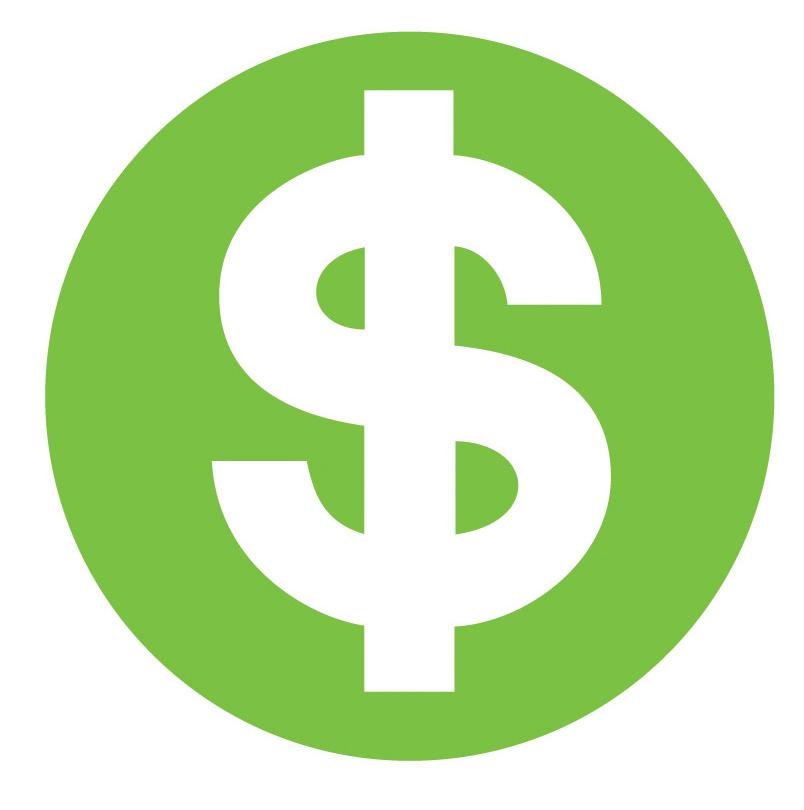 Dollar Green Sign Wallpaper