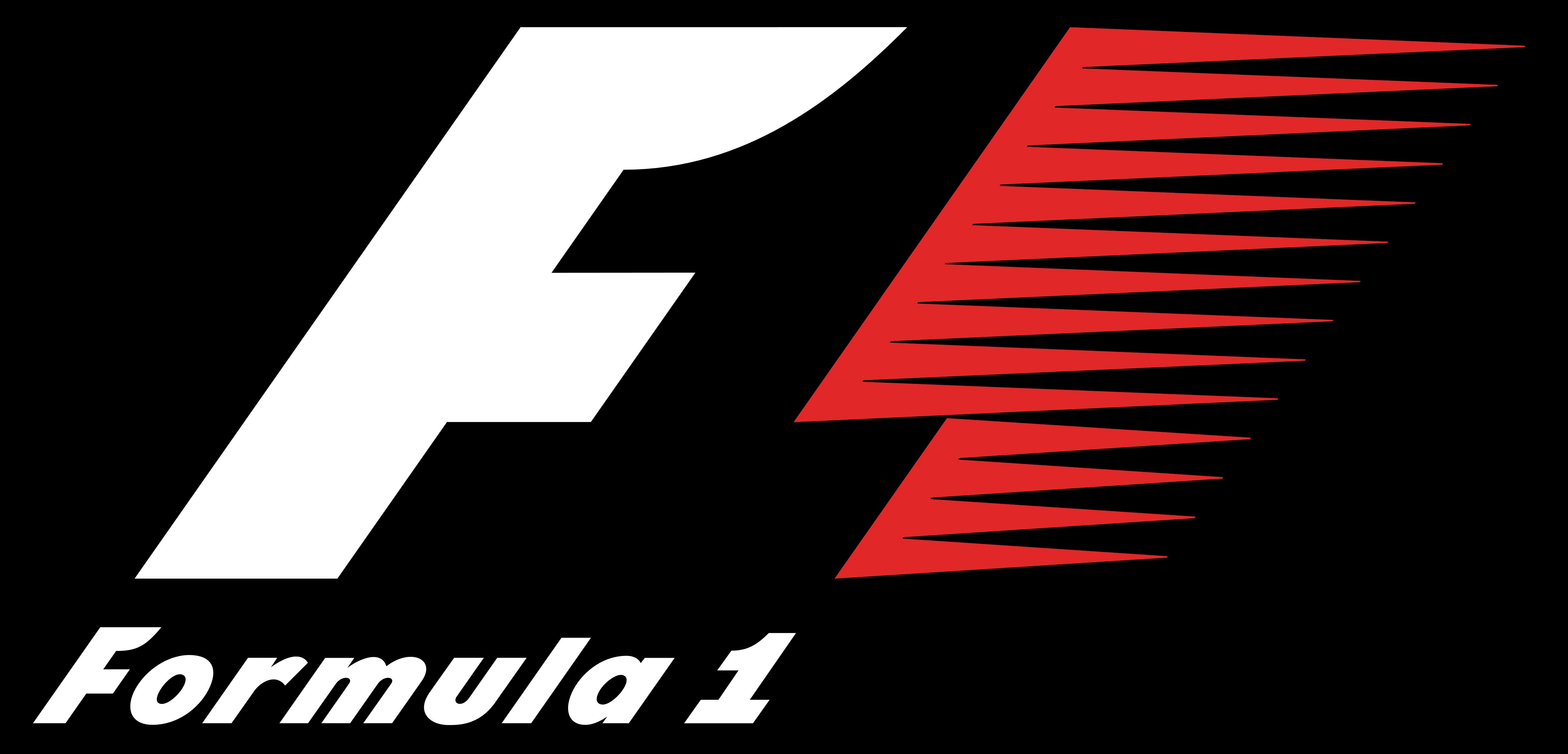 Formula 1 Black Background Logo Wallpaper