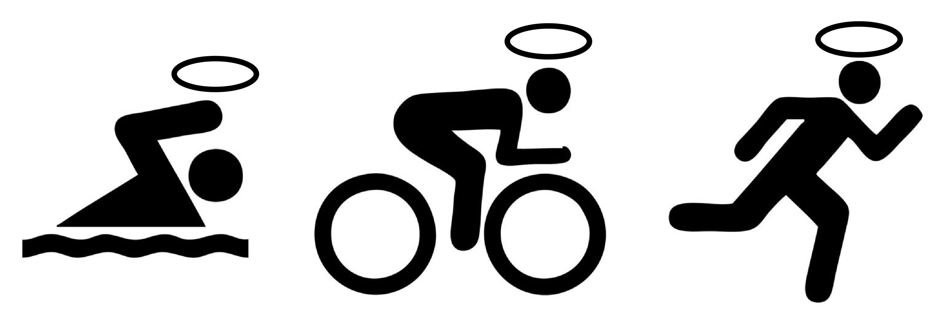 God Squad Triathlon Logo Wallpaper