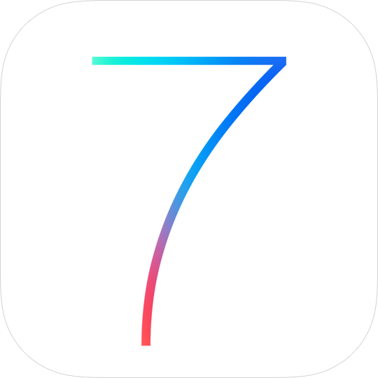 IOS 7 Logo 2 Wallpaper