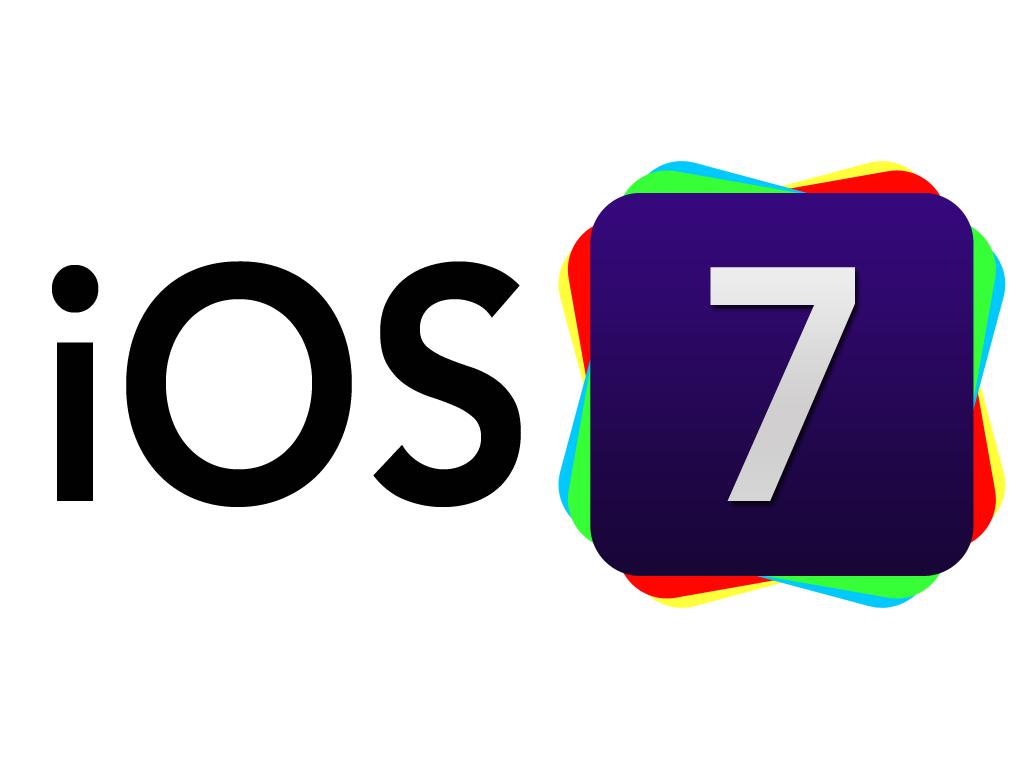 IOS 7 Logo Wallpaper