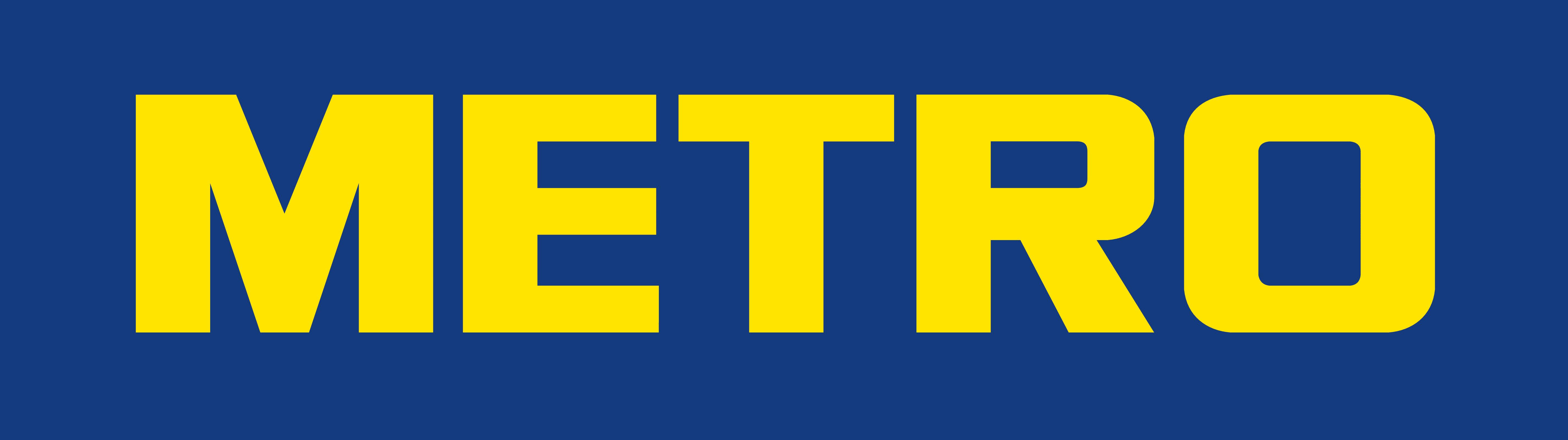 Metro Cash and Carry Logo Wallpaper