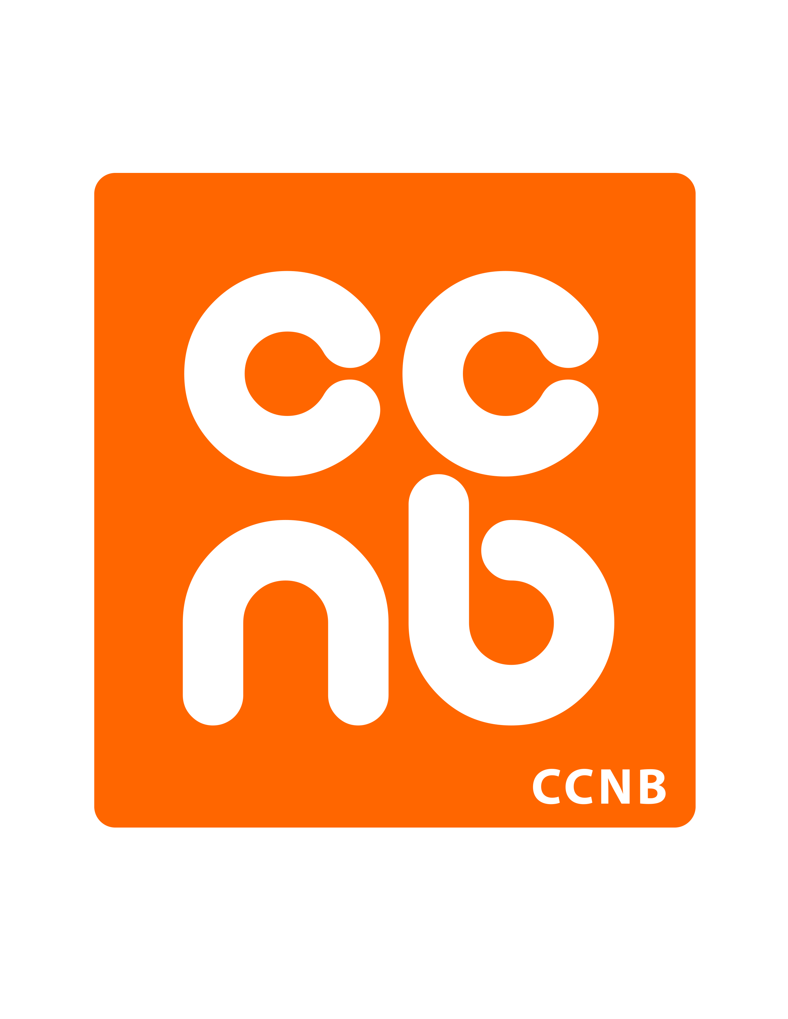 CCNB Orange Logo Wallpaper