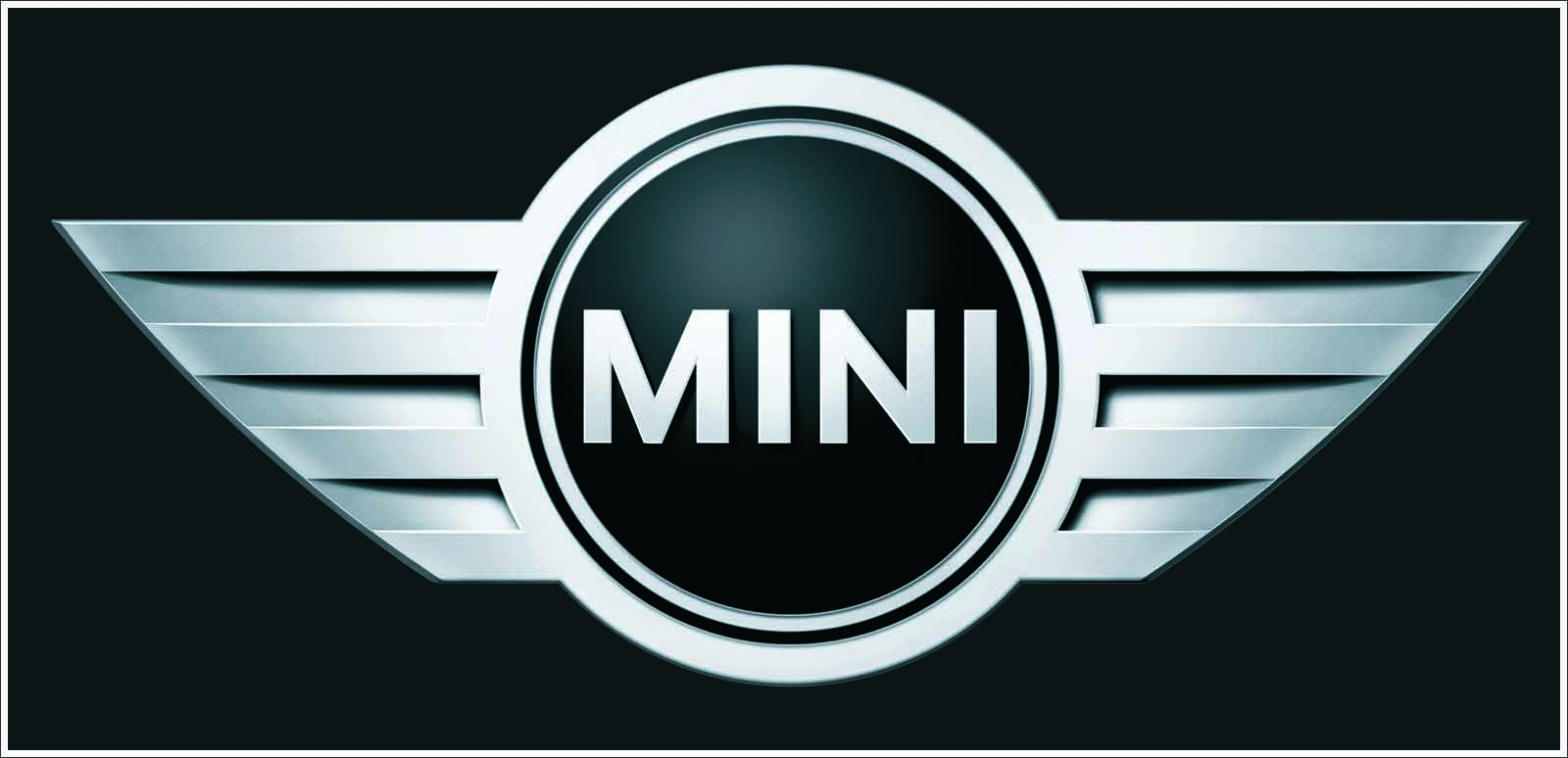 Mini Black Logo Wallpaper