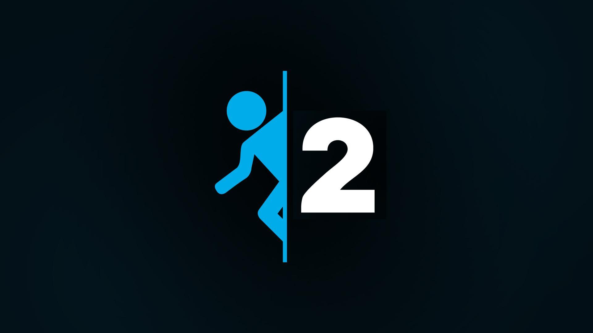 Portal 2 Logo Wallpaper