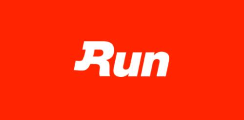 Run Red Logo Wallpaper